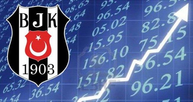 Beşiktaş borsada da uçuyor