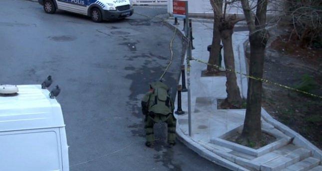 Beşiktaş'ta şüpheli bavul paniği!