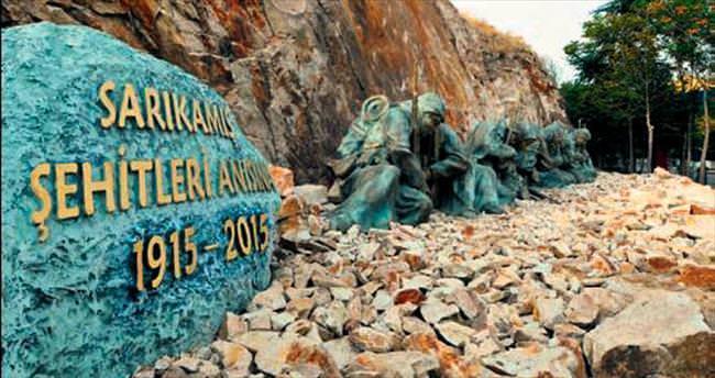 Keçiören'e Sarıkamış anıtı