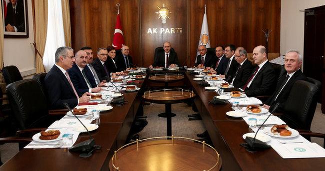 Terörle Mücadele ve Rehabilitasyon Çalışmaları Eylem Planı Toplantısı yapıldı!