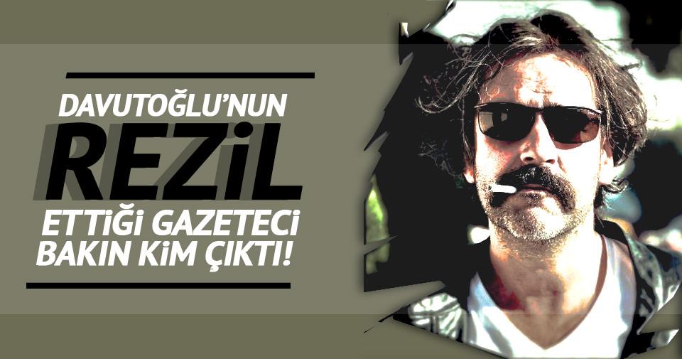 Davutoğlu'nun rezil ettiği PKK yanlısı gazeteci Deniz Yücel