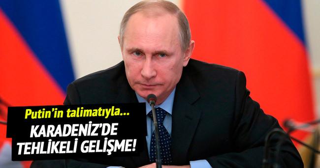 Karadeniz'de tehlikeli gelişme