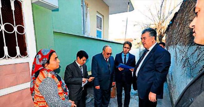 Vali Kerem Al'ın ev ziyaretleri devam ediyor