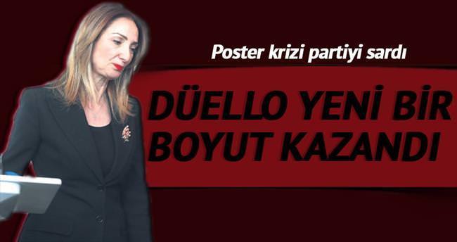 CHP'de poster düellosu sürüyor