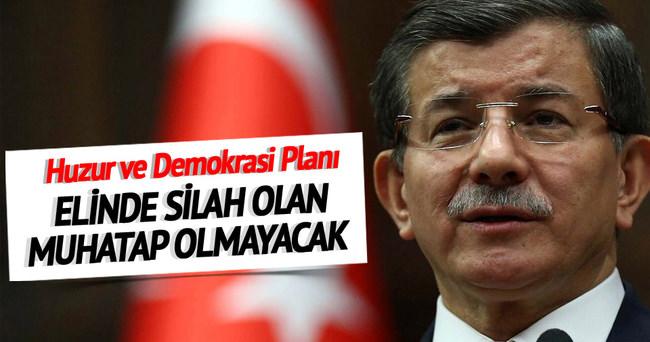 Eylem planımız birlik huzur ve demokrasi