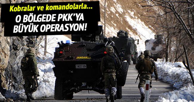 Tunceli'de PKK'ya büyük operasyon!