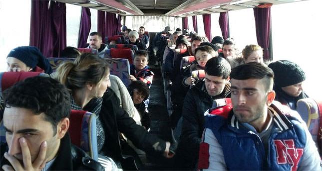 115 kaçak göçmen yakalandı