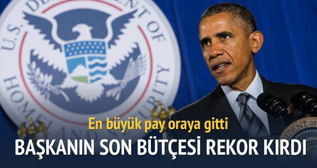 Obama'dan rekor bütçe teklifi