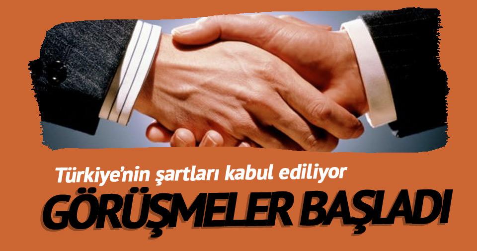 Türkiye ve İsrail görüşmeleri başladı