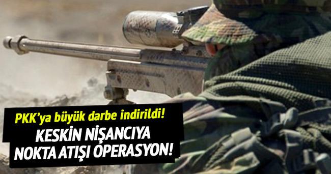 PKK'nın keskin nişancısı öldürüldü!