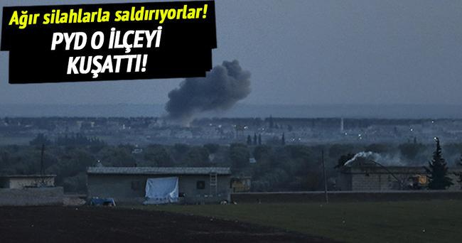 PYD Azez'i kuşattı!