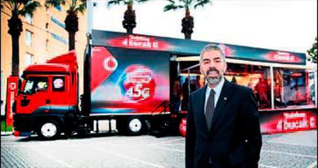 Vodafone, 4.5G'yi İzmir ile tanıştırdı