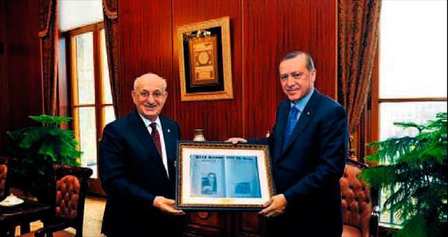 Erdoğan, Kahraman'ı makamında ziyaret etti