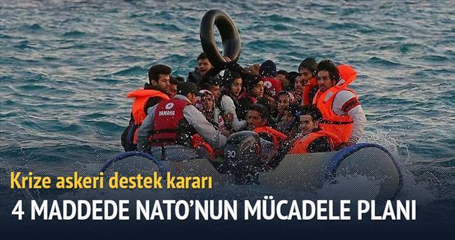 NATO, Ege'de devriye görevine 'tamam' dedi