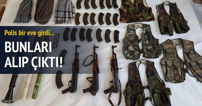 Diyarbakır'da evden cephane çıktı!