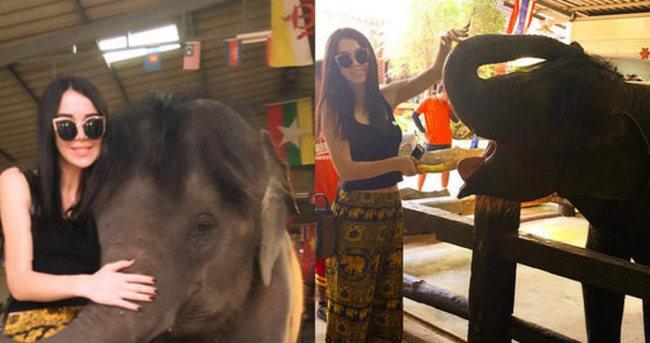 Elif Ece Uzun'un fil aşkı
