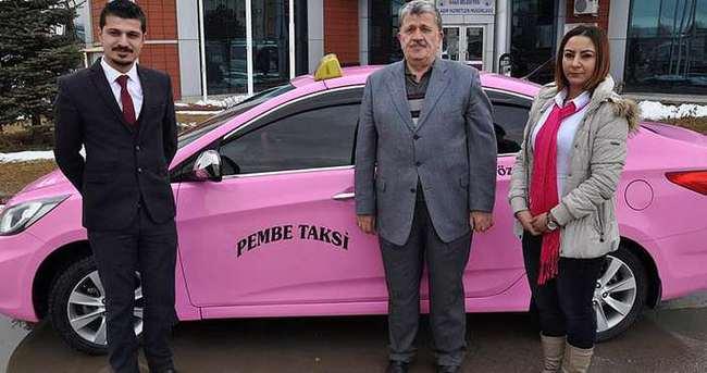 Pembe taksi tartışma konusu oldu, ismi Türkçe yapıldı