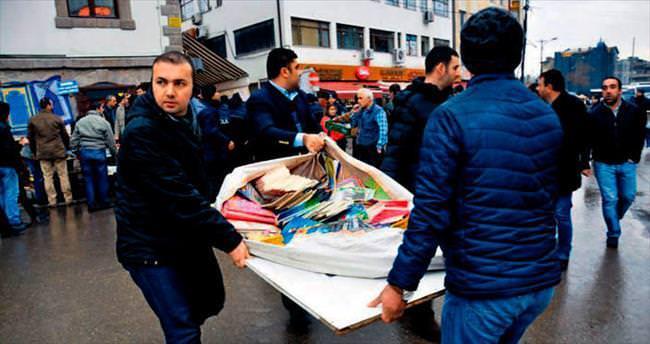 Ulus'a seyyar satıcı yasağı