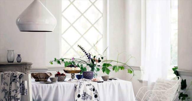 Evin kalbi yemek odası