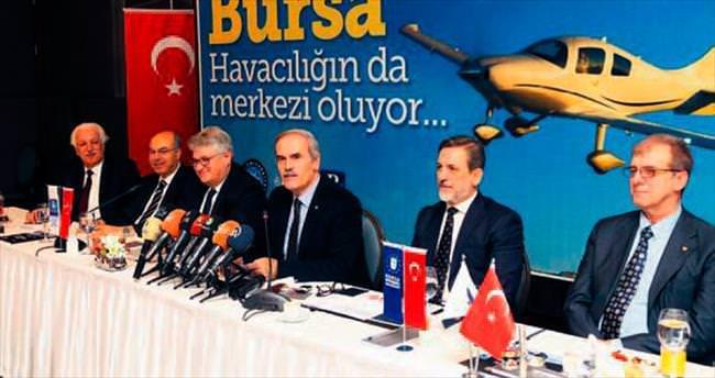 Bursa havacılığın merkezi oluyor