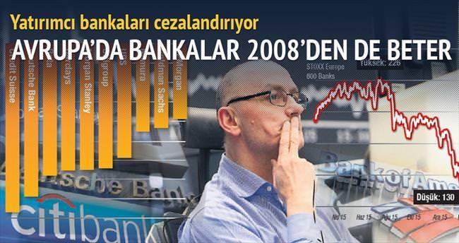 Avrupa'da bankalar 2008'den de beter