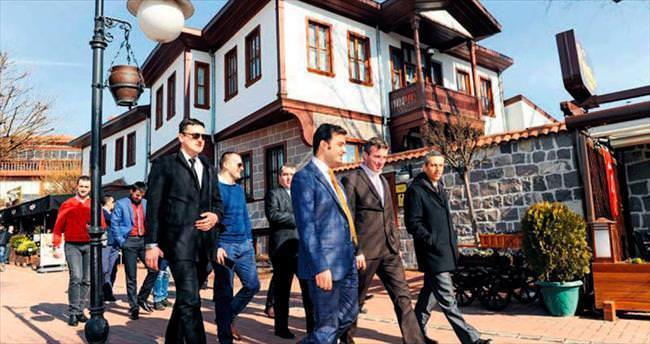 Karadağ heyeti Altındağ'a hayran kaldı