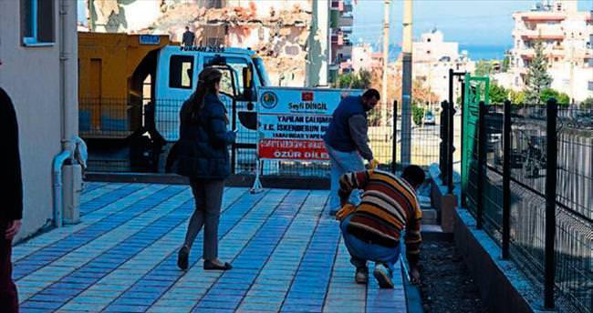 İskenderun belediyesi camileri destekliyor