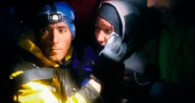 İranlı dağcı sağ olarak bulundu