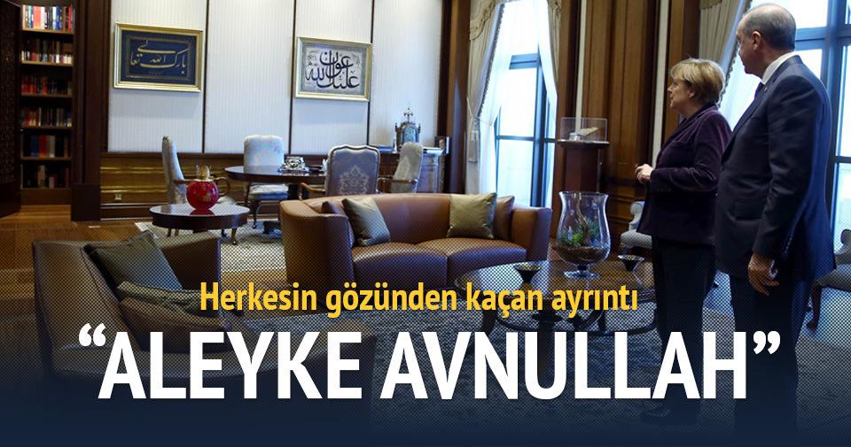 Erdoğan ile Merkel'i karşılayan Üçüncü Selim zamanından kalma hattın öyküsü