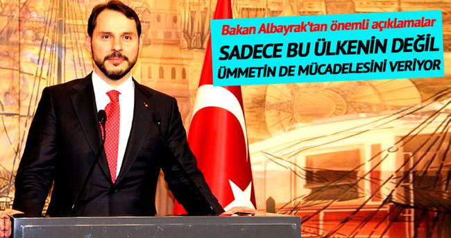 Albayrak: Türkiye gelecek mücadelesi veriyor