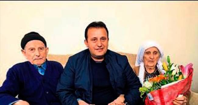 Yaşlı çift sevgi ile ömürlerini uzattı