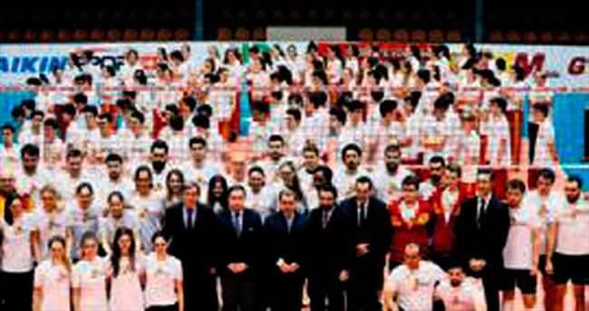 Galatasaray yeni evinde galip