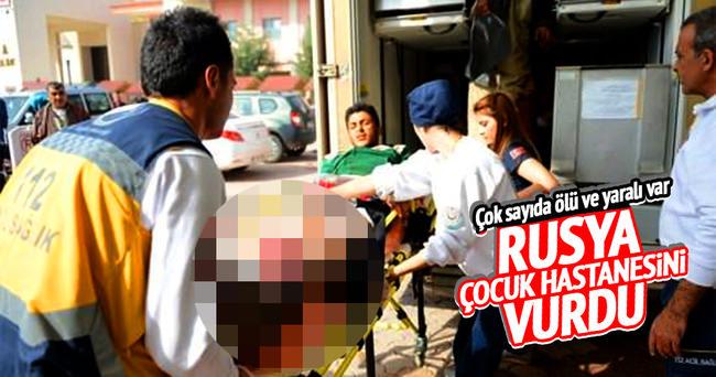 Rusya, Suriye'de okulu vurdu: 14 ölü