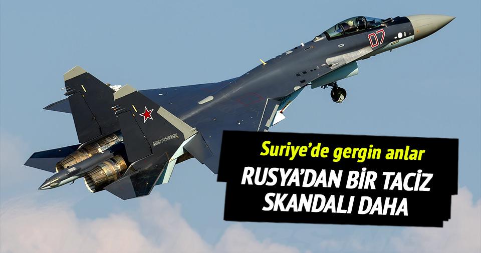 Rusya'dan bir jet skandalı daha
