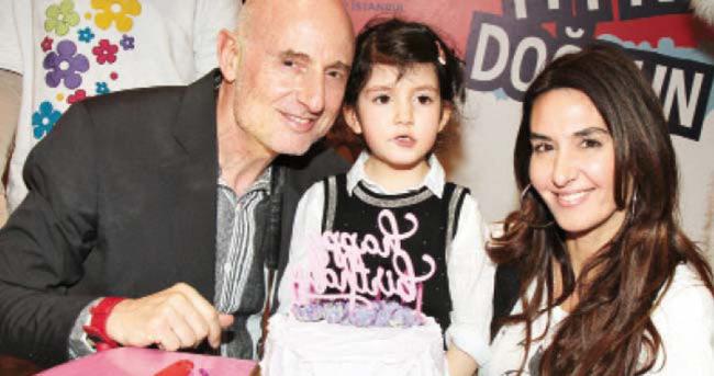 Ayşe Tolga'nın kızı 6 yaşına girdi