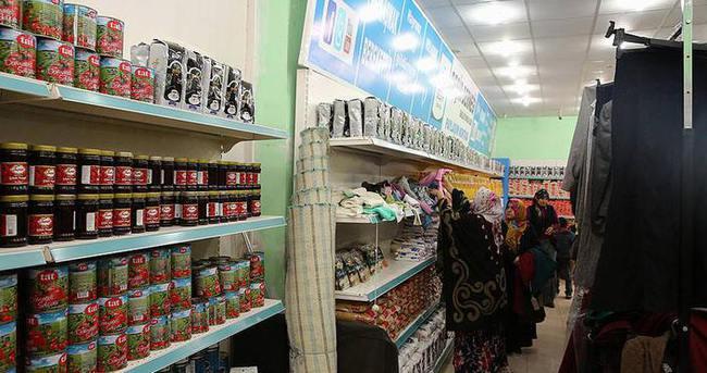 Terör mağdurlarına 'ücretsiz market'