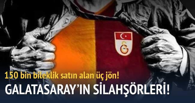 Galatasaray'ın üç silahşorü!
