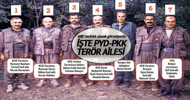 İşte PYD-PKK terör ailesi