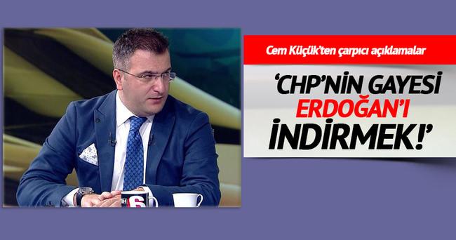 CHP'nin gayesi Erdoğan'ı indirmek