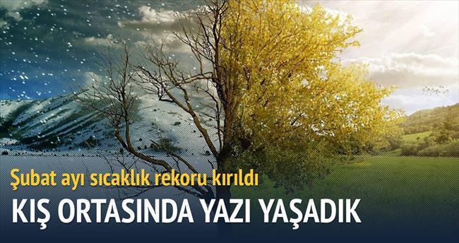 Türkiye, şubat ayında yaz mevsimini yaşadı