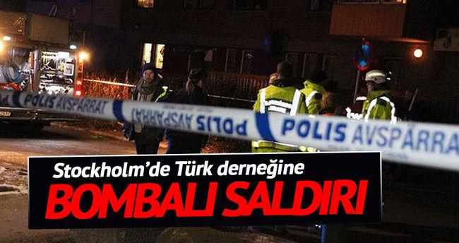 Stockholm'de Türk derneğine saldırı