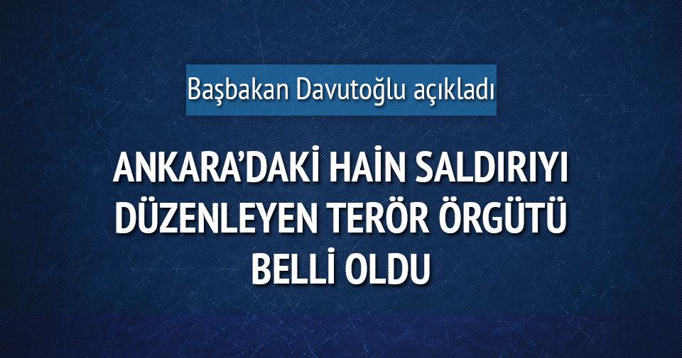 Davutoğlu: Saldırgan PYD-YPG üyesidir