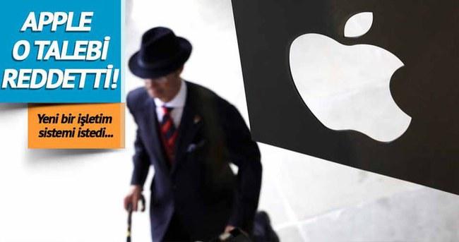 Apple, FBI'ın talebini reddetti