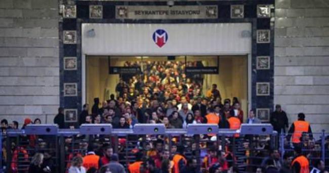 İBB'den Galatasaray maçına metro düzenlemesi
