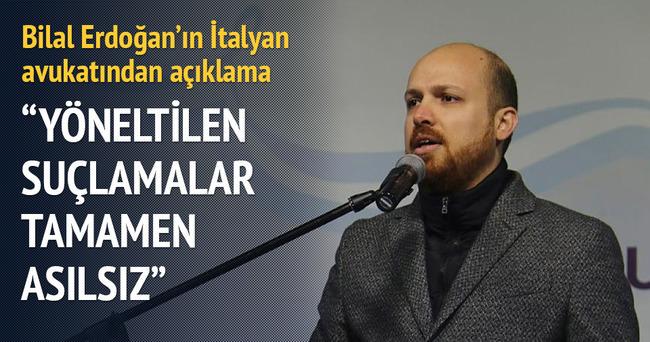 Bilal Erdoğan'ın İtalyan avukatından açıklama