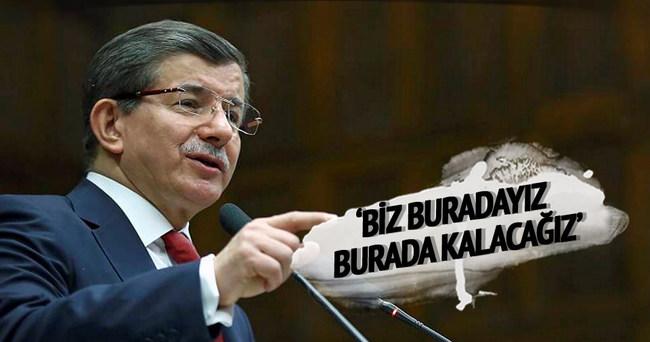 Başbakan Davutoğlu'ndan Ankara açıklaması