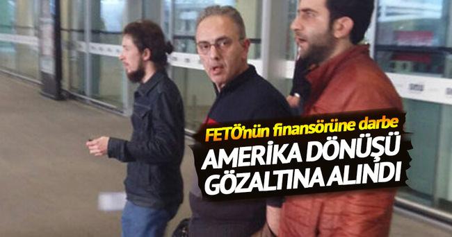 FETÖ'nün finansörü gözaltına alındı