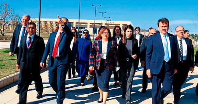 Başkanlar turizm konusunu görüştü