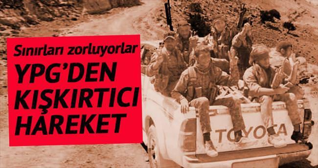 YPG'den kışkırtıcı adım