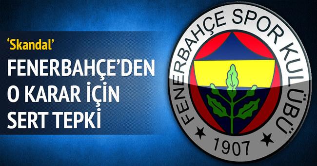Bursaspor maçı öncesi Fenerbahçe'den sert açıklama